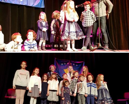 un spectacle d'enfants pour les 10 ans du Kosovo 2