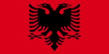 Aigle albanais - Drapeau - Les 4 Couleurs