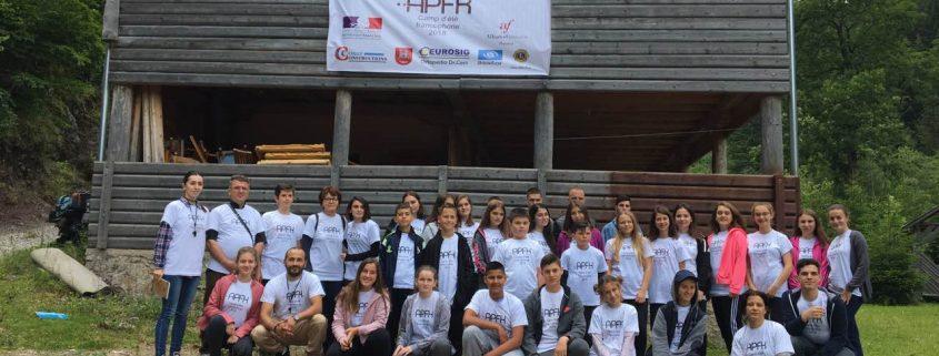Camp été francophone 2018 Kosovo - Les 4 Couleurs
